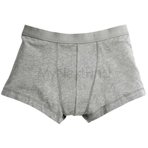 Fruit of the Loom Homme Classique Shorty Boxer Shorts Sous-Vêtements 2-Pack