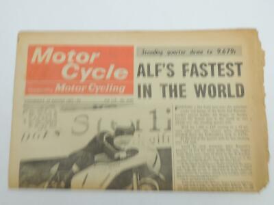 VINTAGE BRITISH MOTORCYCLE NEWS 1967 and UP HALLMAN ! BICKERS ...