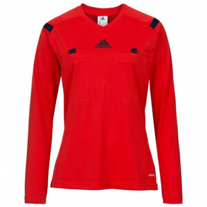 Adidas-Long-Sleeve-T-Shirt-Woman-Red