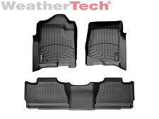 WeatherTech DigitalFit FloorLiner - 2007-2013 - Chevrolet Avalanche - Black