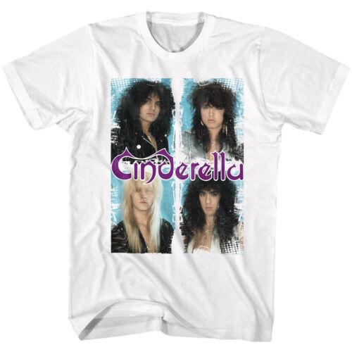 Cinderella Individual Band Bust Photo/'s Adult T Shirt Rock Music