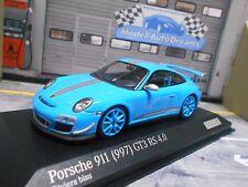 PORSCHE 911 997 GT3 RS 4.0 Carrera 2013 Coupe blau blue 1/200 Minichamps 1:43