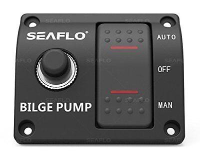 Aaa Bilge Pump Switch Wiring Diagram: SEAFLO 3-Way Bilge Pump Switch Panel Auto/Off/Manual with 15A rh:ebay.com,Design