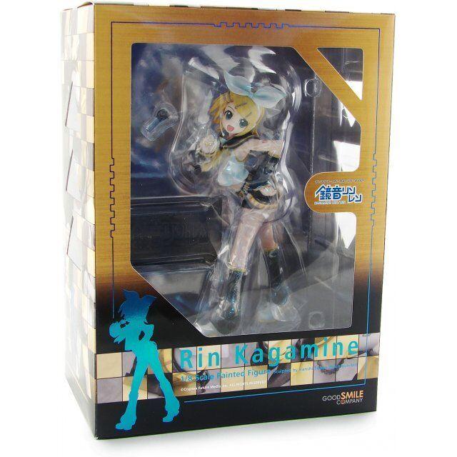Vocaloid Rin Kagamine 1 8 Scale PVC Fig GOOD SMILE COMPANY 4582191965192 20490