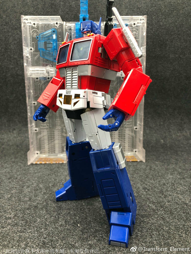 New Toy Transform Element TE01 TE-01 Optimus Prime Commander Action Figure