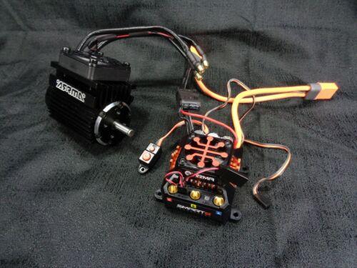 Outcast 8s Spektrum Firma 160Amp Smart ESC 1250Kv Brushless Motor Arrma Kraton