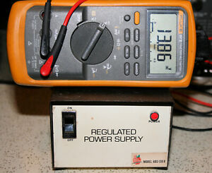 Vintage Apple Blossom Model ABS-138R Regulated Power Supply 4 Amp 13.8 VDC J