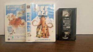 Ice-Age-VHS-2002-Includes-Bonus-Short-034-Scrats-Mising-Adventure-034-VHS-amp-CASE