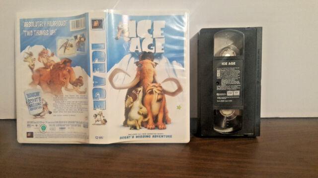 Ice Age (VHS, 2002, Includes Bonus Short