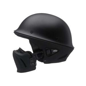 Bell Motorcycle Helmet >> Details About New Bell Rouge Matte Black Half Motorcycle Helmet Street Bike All Sizes Dot