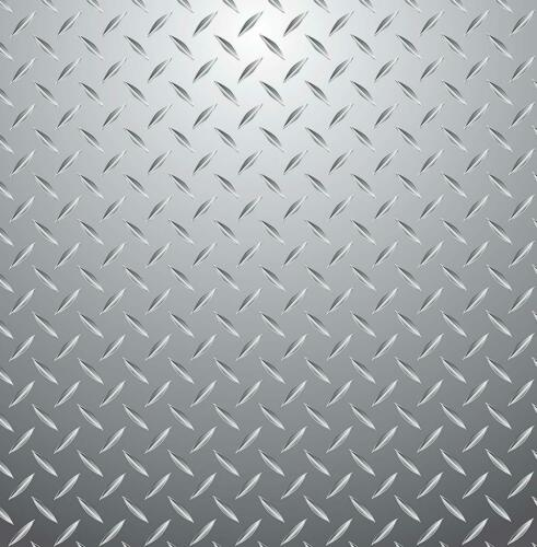 Metallic Checker Steel Plate Wallpaper Kids Fun4Walls Fine Decor