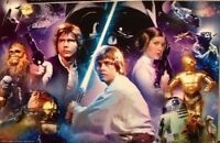 Star Wars 3d Puzzle By Cardinal Industries, 12 X 9 Inches, Multi Characters