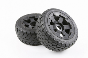 Front Onroad Wheels And Tyres X 2pc Fit 1 5 Rc Hpi Rovan Km Baja 5b Rc Car Parts Ebay