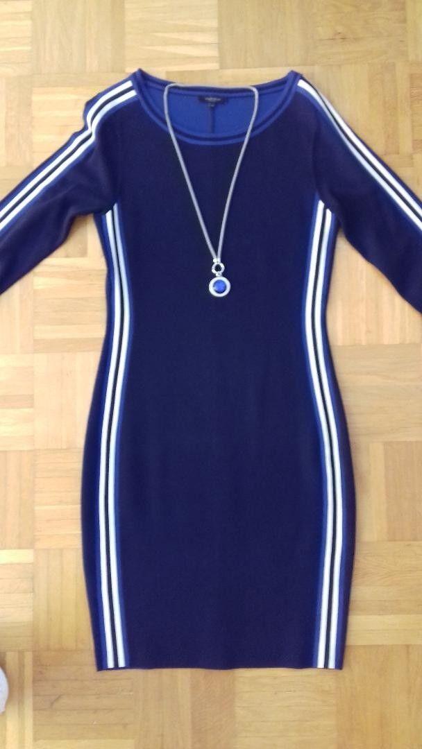 TOLLES   Kleid von Claudia Sträter - blau - Gr. 34 - wie neu