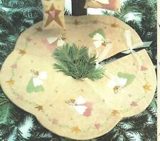Little Angel Tree skirt applique quilt pattern by Bareroots