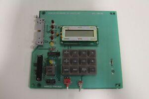 Harris-Farinon-LCD-Display-Panel-Keyboard-Module-SD-106015-M2-Opt-001-021-108100