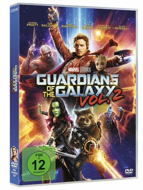 Guardians of the Galaxy - Teil: 2 [DVD/NEU/OVP] Marvel's zweite aberwitzige