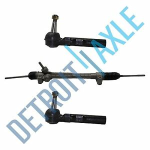 Complete Power Steering Rack and Pinion 2 NEW OUTER TIE ROD 4.0L