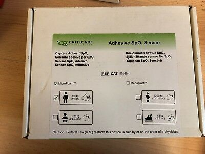 Niedrigerer Preis Mit 24 Stück Criticare Adhesive Spo² Sensor Selbstklebend -30kg Kg Microfoam 570sdm Zu Verkaufen