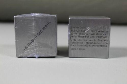 //S157 5 cm Kneipe,Wirtshaus,Gaststätte 2 Metall Nichtraucher Würfel je ca