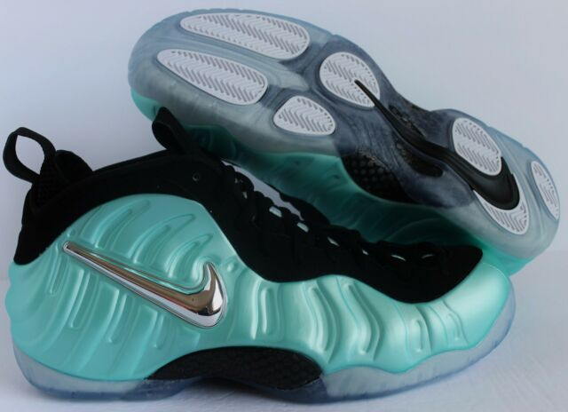 buy online 11869 6749e Nike Air Foamposite Pro Island Green Platinum Aqua Size 15 Shoes 624041-303