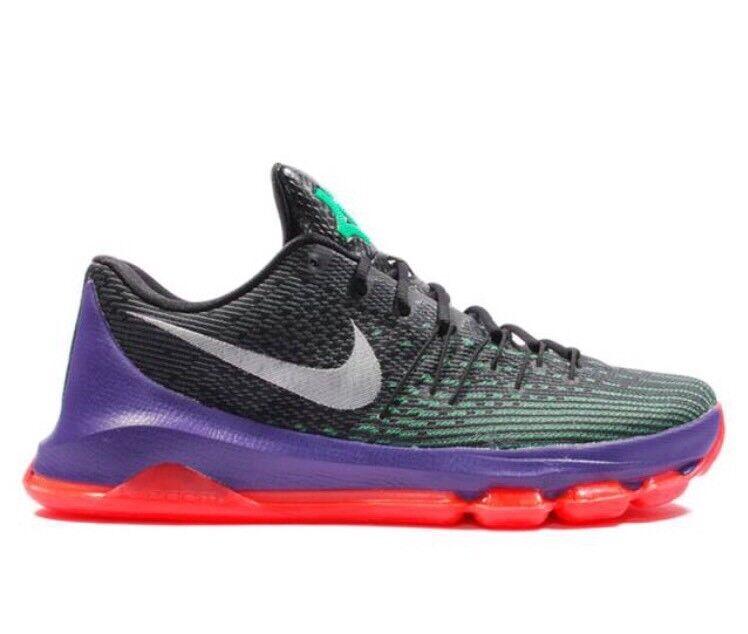 Nike KD 8 RAPTORS Toronto Vinary 12 Black Purple Red Air 4 7 Jordan 749375-013