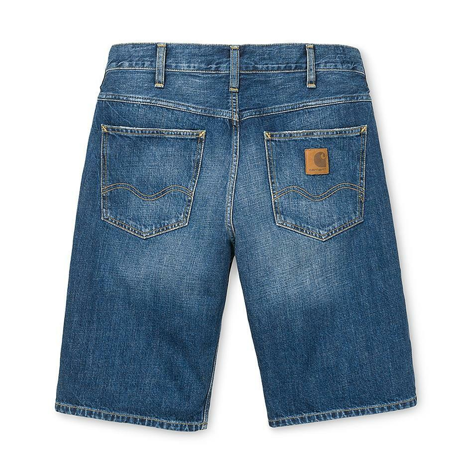 Carhartt Western Short bluee gravel washed