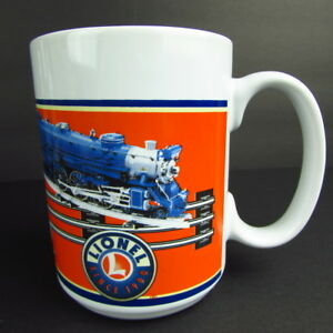 Lionel-Trains-Model-Railroad-Memorabilia-Orange-Coffee-Mug-Sherwood-2006-Cup