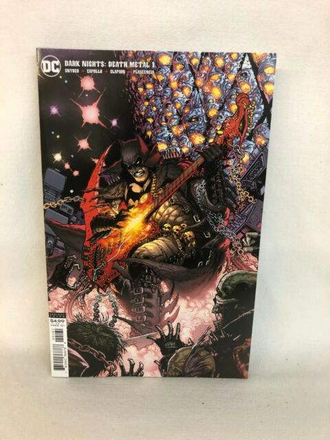DC Dark Nights Death Metal #1 1:25 VAR CVR by (CA) DOUG MAHNKE (W) Scott Snyder