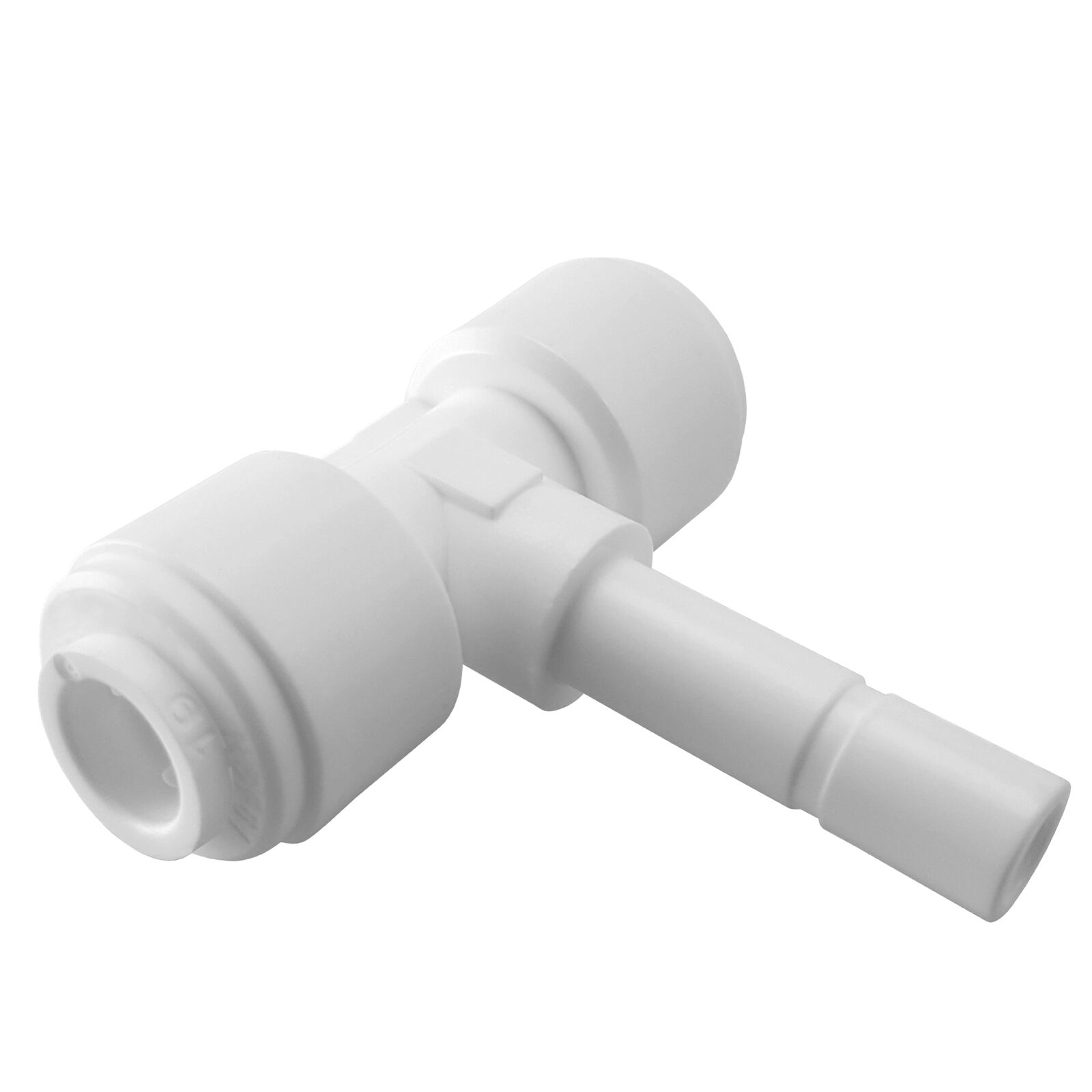 Express Water Stem Branch Tee 1 4  Fitting Connection Water Filters   RO System