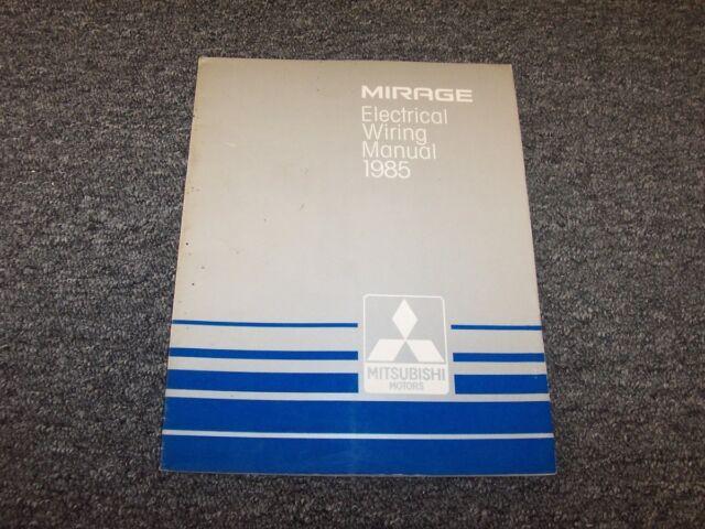 1985 Mitsubishi Mirage Hatchback Electrical Wiring Diagram