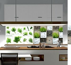 Küchenrückwand SP664 Acrylglas Spritzschutz Fliesenspiegel Küche ...