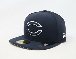 New-Era-59Fifty-Cap-NFL-Chicago-Bears-Mens-League-Basic-Navy-Blue-Fitted-Hat