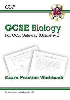 New Grade 9-1 GCSE Biology: OCR Gateway Exam Practice Workbook by CGP Books (Pap