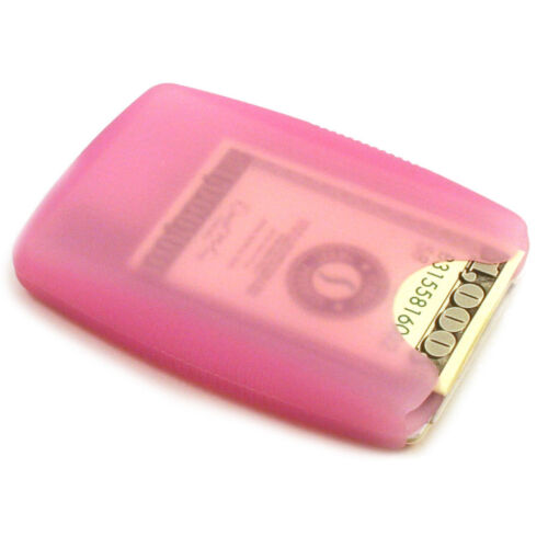 + Flexible Soft Storus Jelly Wallet Made of Silicone No-Slip Material Slim