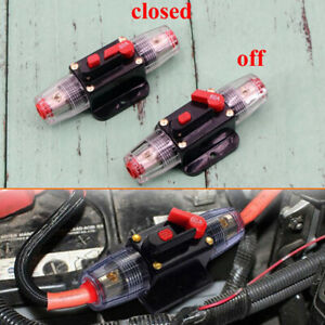 150A AMP Circuit Breaker Car Marine Stereo Audio Inline Replace Fuse 12V-42V
