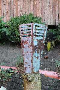 101-EDELROST-Fackel-Skulptur-Feuer-Rost-Gartendeko-Stele-Edel-Kunst-Dekoration