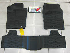 2011-2012 Jeep Grand Cherokee RUBBER Slush FLOOR MATS and CARGO MAT COMBO,Mopar