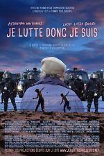 Affiche 40x60cm JE LUTTE DONC JE SUIS (2015) Yannis Youlountas - Eric Toussaint