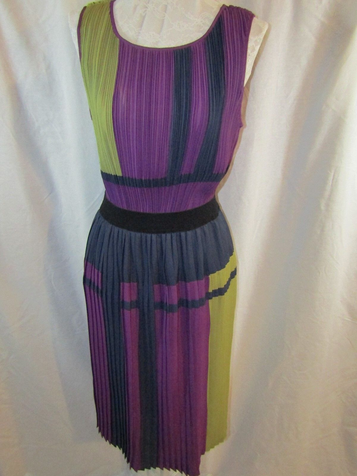 BCBG MAXAZRIA Woman's Multi-Farbe  Arleney  Dress Größe XXS NWT