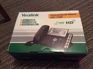 Yealink SIPT26P Enterprise Phone with power adaptor - rugby, warks, United Kingdom - Yealink SIPT26P Enterprise Phone with power adaptor - rugby, warks, United Kingdom