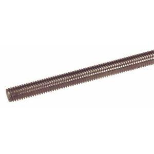 Tiges filetées inox A4 - longueur 1 m - diamètre 5 mm ACTON