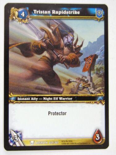 TRISTAN RAPIDSTRIKE 221//361 WoW World of Warcraft Cards played