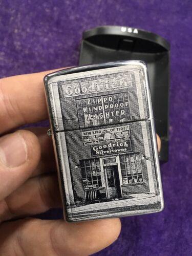Zippo Lighter Goodrich and Silvertowns Emblem 2003 Design SEALED 1st Factory