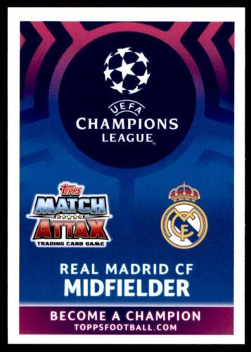 Match Attax Liga de Campeones 2018//19 TONI KROOS REAL MADRID CF no 49
