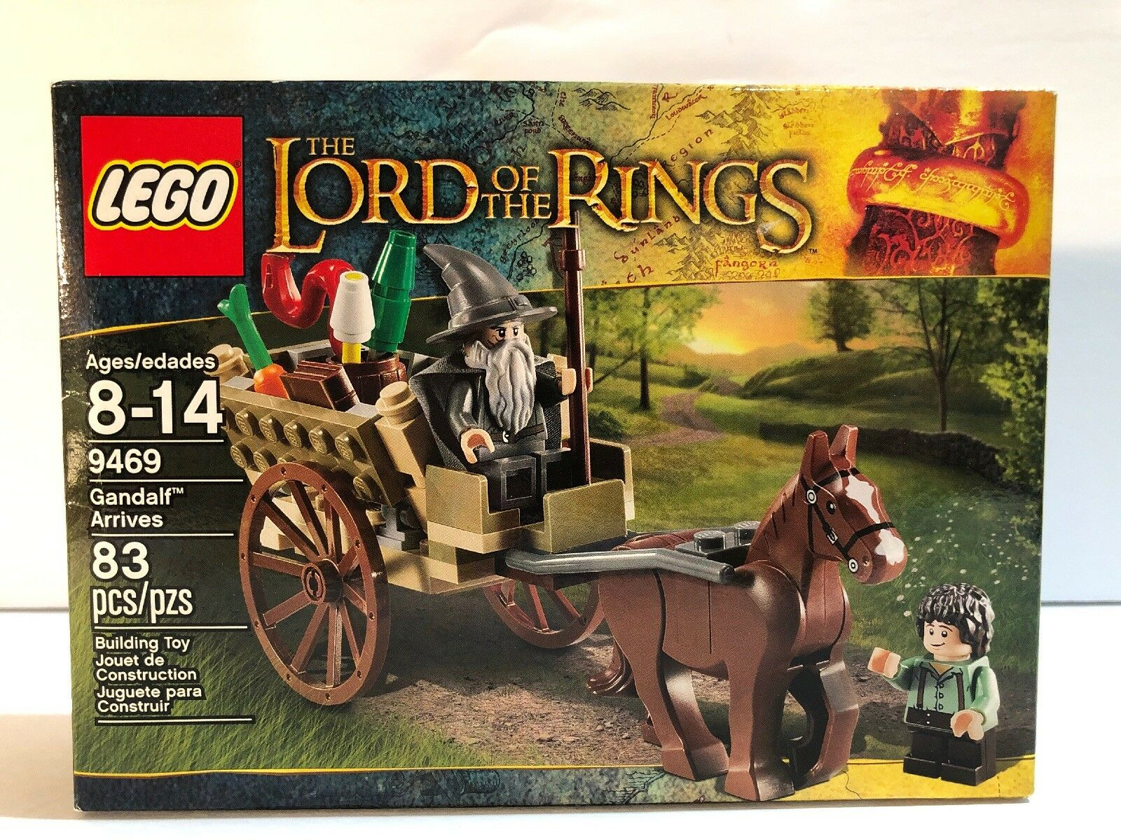 LEGO  Lord of the Rings Gealf Arrives (9469) LOTR Bre nuovo  bellissimo