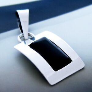 Onyx-Silber-925-Anhaenger-Sterlingsilber-Damen-Schmuck-A38