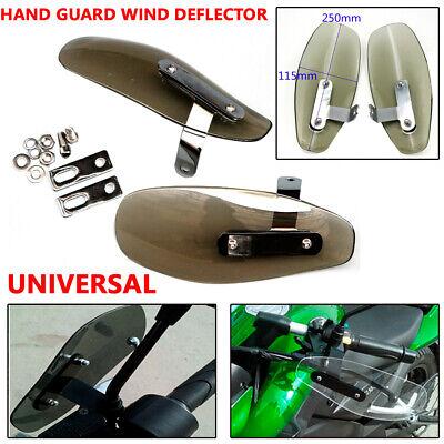 Smoke Air Flow Spoiler Handle Hand Guard Protector Wind Deflectors For Yamaha