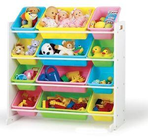 Tot Tutors Toy Organizer Storage Bins Pastel Ebay