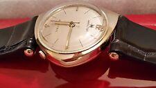 "Hamilton ""Savitar"" 14k Solid Gold Man's Wristwatch Ca.1962 505 Electric Movement"